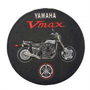 Patch Bordado Yamaha Vmax - 19 x19 Cm