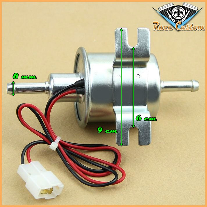 Bomba De Combustível - Gasolina Universal Motocicletas Carburadas e Injetadas  - Race Custom