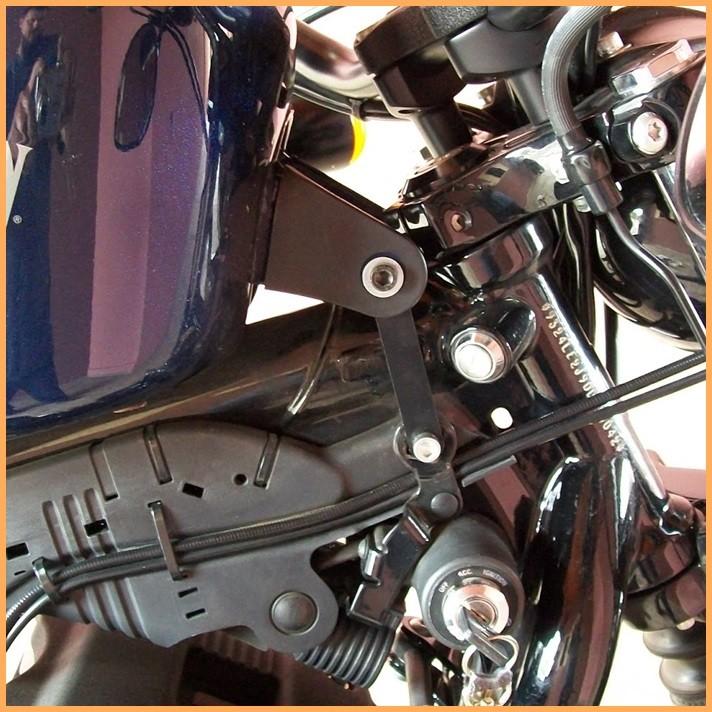 Elevador De Tanque ( Tank Lift ) Harley-davidson Sportster 883  - Race Custom