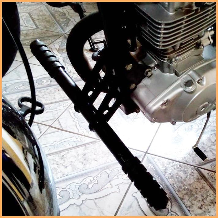 Pedaleira Avançada Intruder 125 - Descanso Fixo  - Race Custom