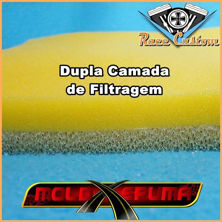 Filtro de Ar Husky 150 - Refil de Espuma  - Race Custom