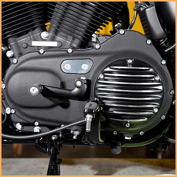 Tampas de Motor - Derby Cover e Timer Cover para Harley Sportster XL 1200 e 883  - Race Custom