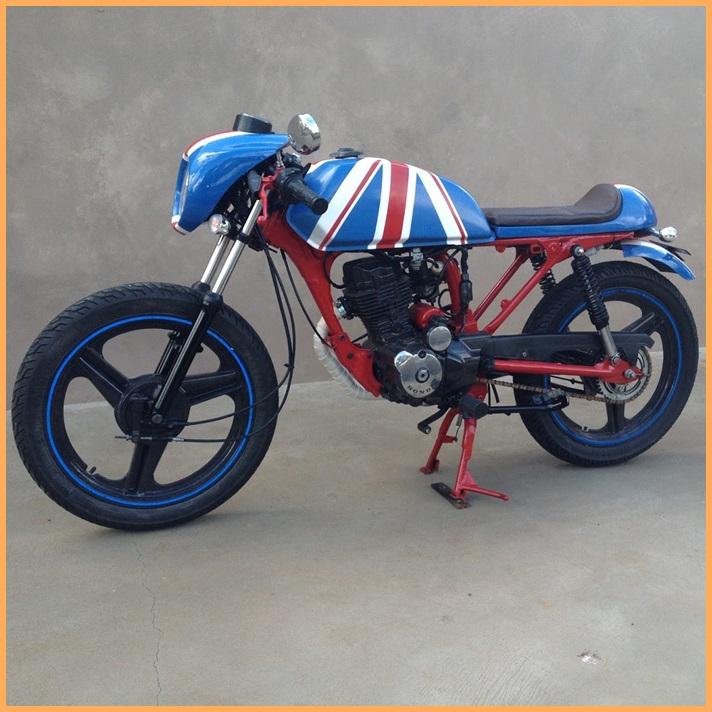 Kit Carenagens Café Racer para Motos de 125 a 200 cc  - Race Custom