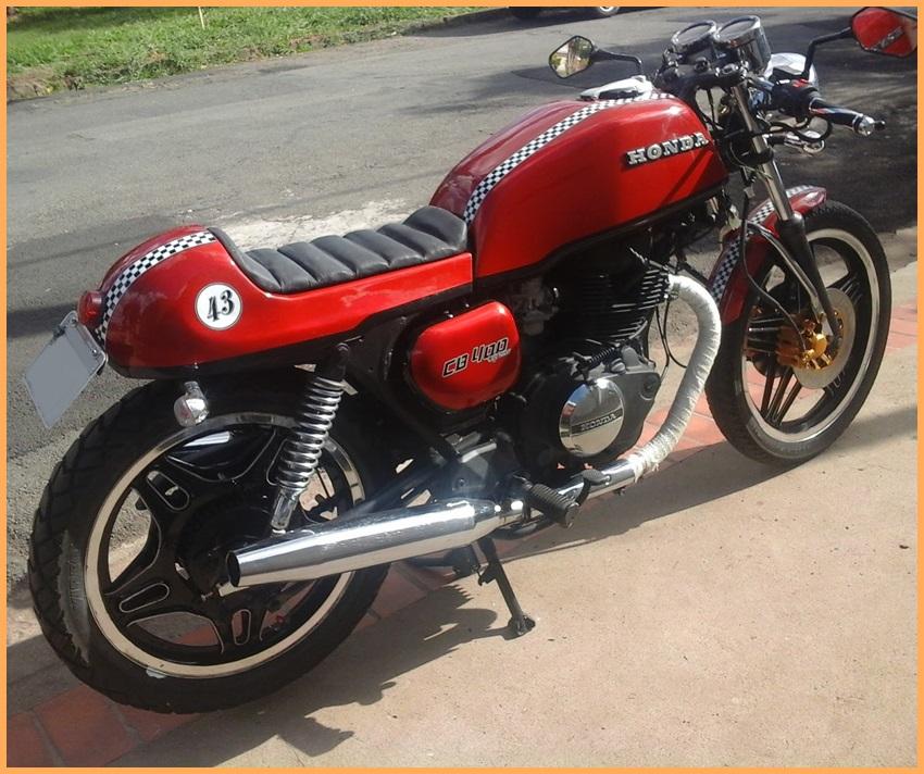 Kit Carenagens Café Racer para CB 400 e 450 cc  - Race Custom