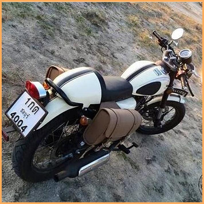 Adesivo Faixa Café Racer Branca - Unidade  - Race Custom