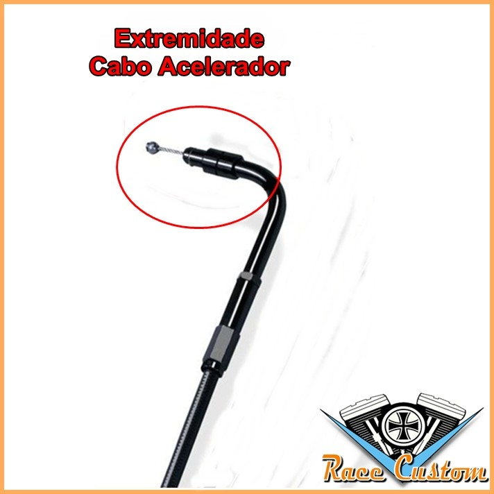 Cabo Harley Davidson Softail Breakout - FXSB - Acelerador A  - Race Custom