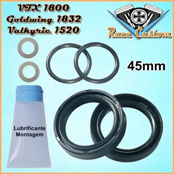 Retentor de Garfo VTX 1800 01... ,Goldwing 1832 02...,GL1520C Valkyrie 97 a 03  - Race Custom
