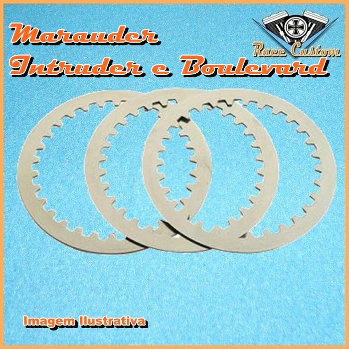Discos Separadores Marauder 800, Intruder 800 e Boulevard 800  - Race Custom
