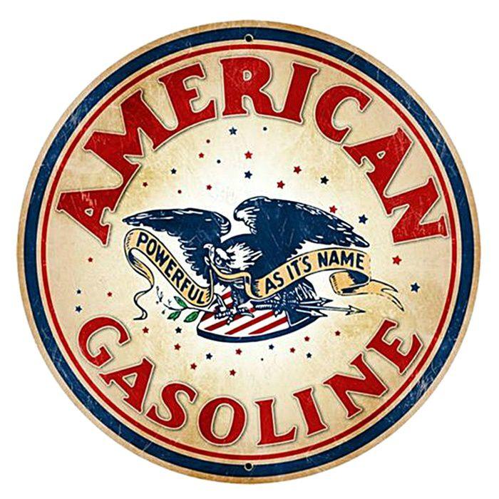 Adesivo American Gasoline - Unidade  - Race Custom