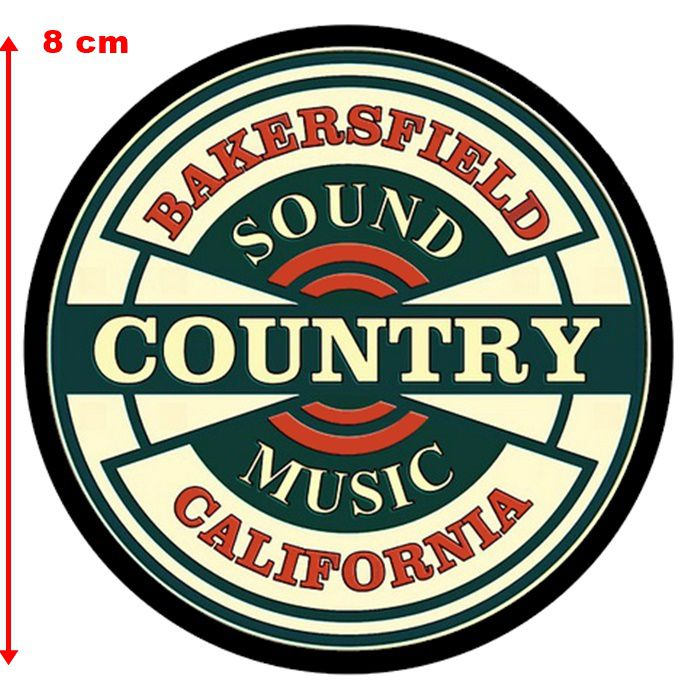 Adesivo Bakersfield California - Unidade  - Race Custom