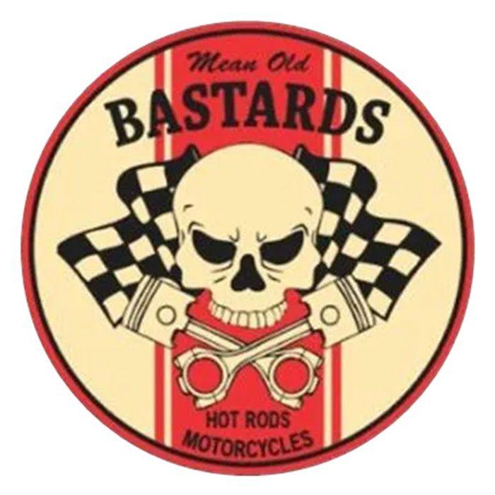 Adesivo Bastards - Unidade  - Race Custom