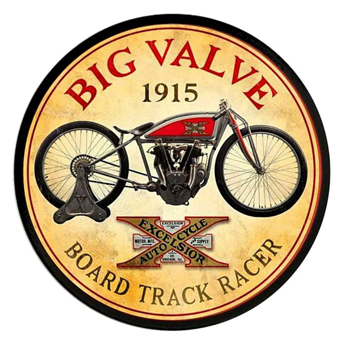 Adesivo Big Valve 1915 - Unidade  - Race Custom
