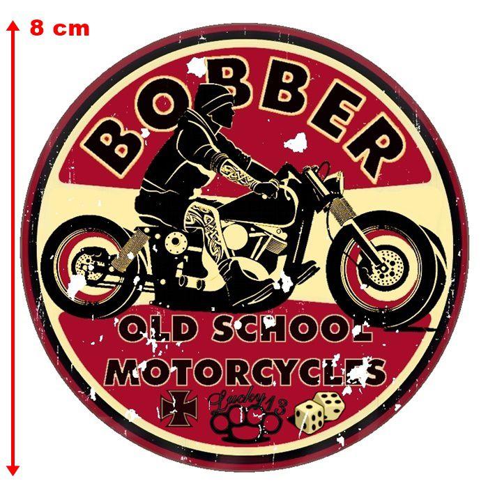 Adesivo Bobber Old School - Unidade  - Race Custom