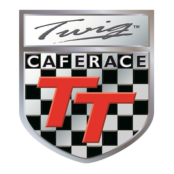 Adesivo Cafe Race TT - Unidade  - Race Custom