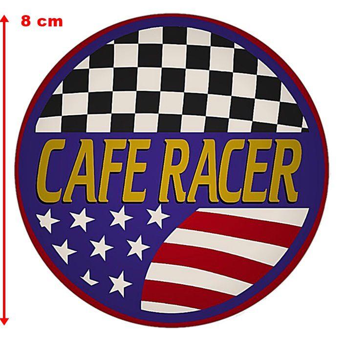 Adesivo Cafe Racer América - Unidade  - Race Custom