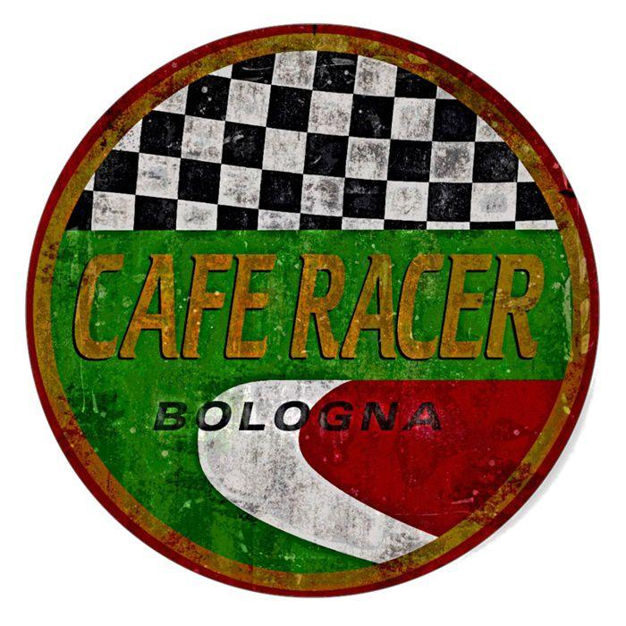 Adesivo Cafe Racer Bologna - Unidade  - Race Custom