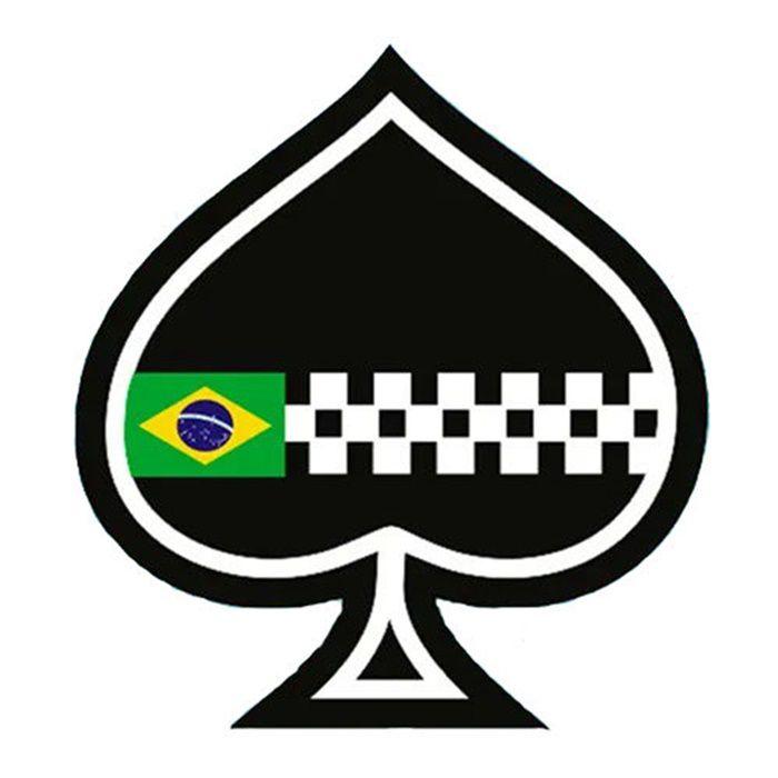 Adesivo Café Racer Brasil - Unidade  - Race Custom