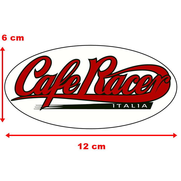 Adesivo Cafe Racer Italia - Unidade  - Race Custom