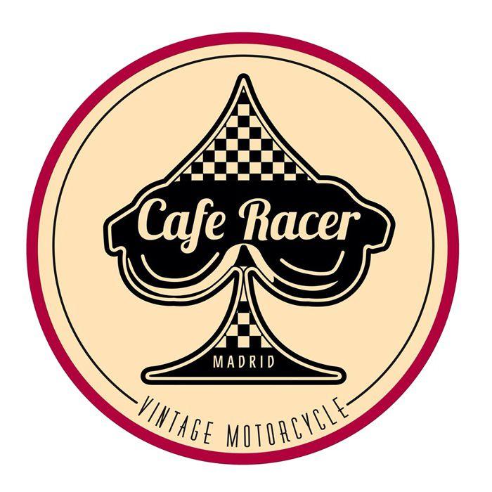 Adesivo Cafe Racer Madrid - Unidade  - Race Custom