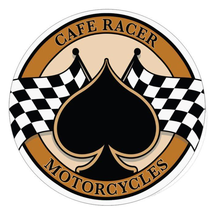 Adesivo Cafe Racer Motorcycles - Unidade  - Race Custom
