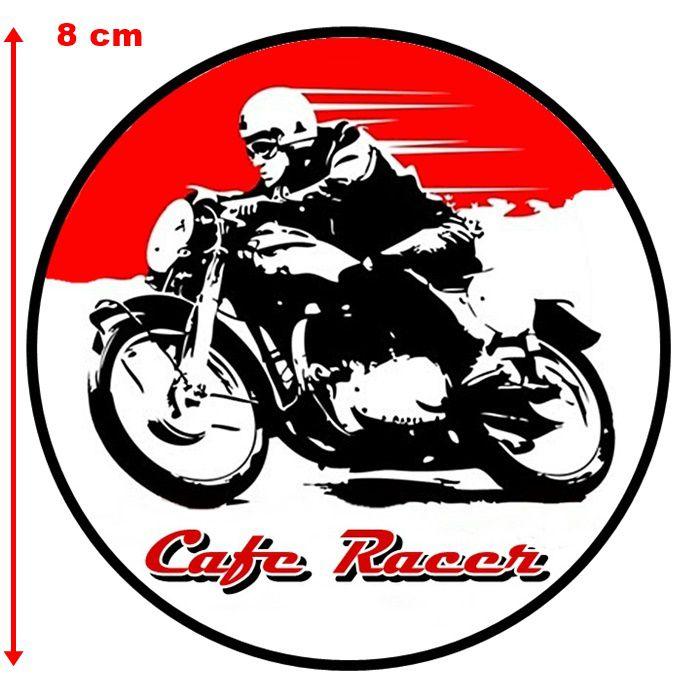 Adesivo Cafe Racer Red - Unidade  - Race Custom
