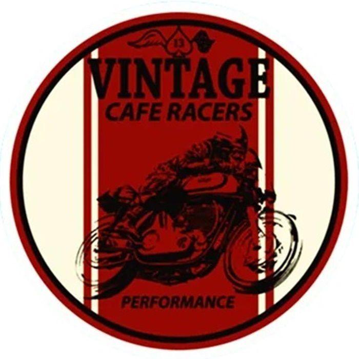 Adesivo Café Racer Vinage - Unidade  - Race Custom