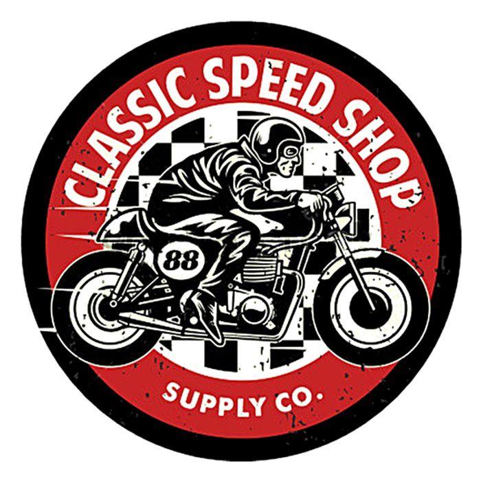 Adesivo Classic Speed Shop - Unidade  - Race Custom