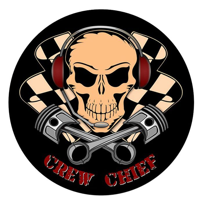 Adesivo Crew Chief - Unidade  - Race Custom
