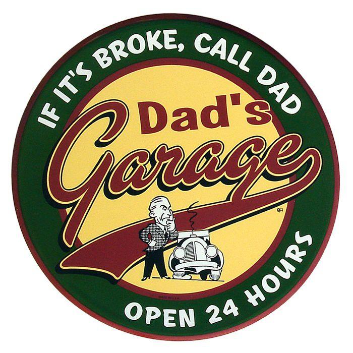 Adesivo Dads Garage - Unidade  - Race Custom