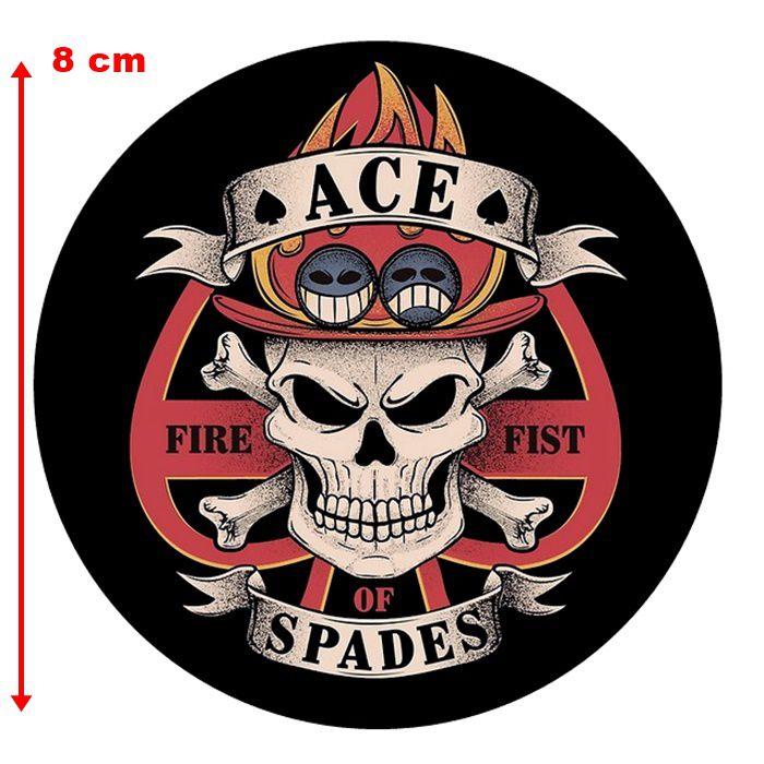 Adesivo Fire Fist Spades - Unidade  - Race Custom