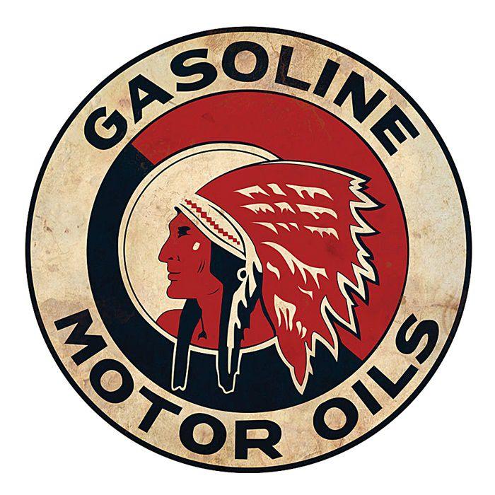 Adesivo Gasoline Motor Oils - Unidade  - Race Custom