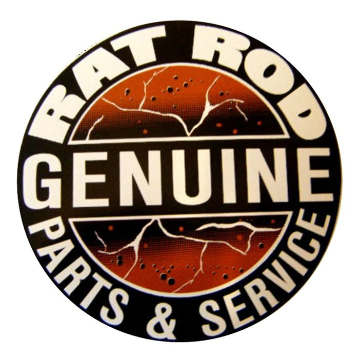 Adesivo Genuine Rat Rod - Unidade  - Race Custom