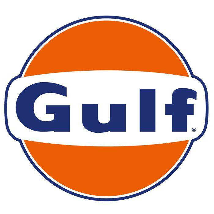 Adesivo Gulf Gasoline - Unidade  - Race Custom