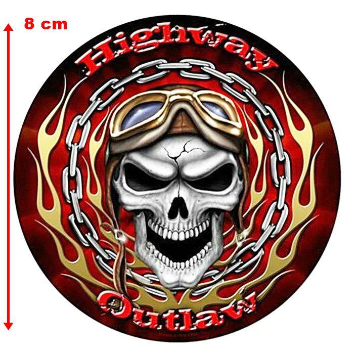 Adesivo Highway Outlaw - Unidade  - Race Custom