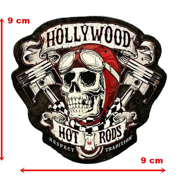 Adesivo Hollywood Hot Rods - Unidade  - Race Custom