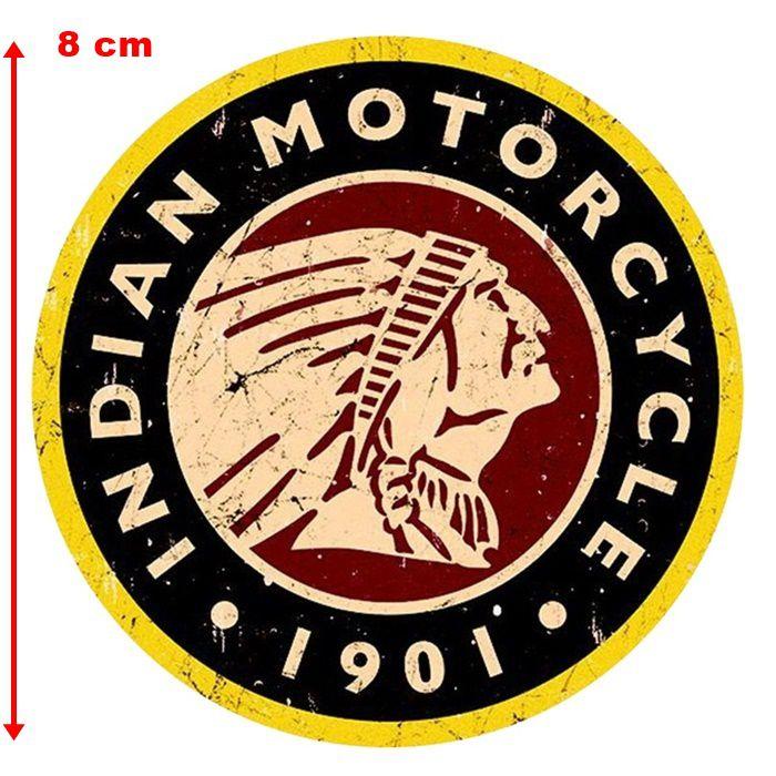 Adesivo Indian 1901 - Unidade  - Race Custom