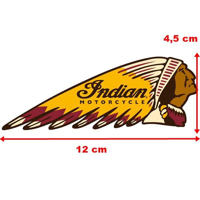Adesivo Indian Motorcycles - Unidade  - Race Custom
