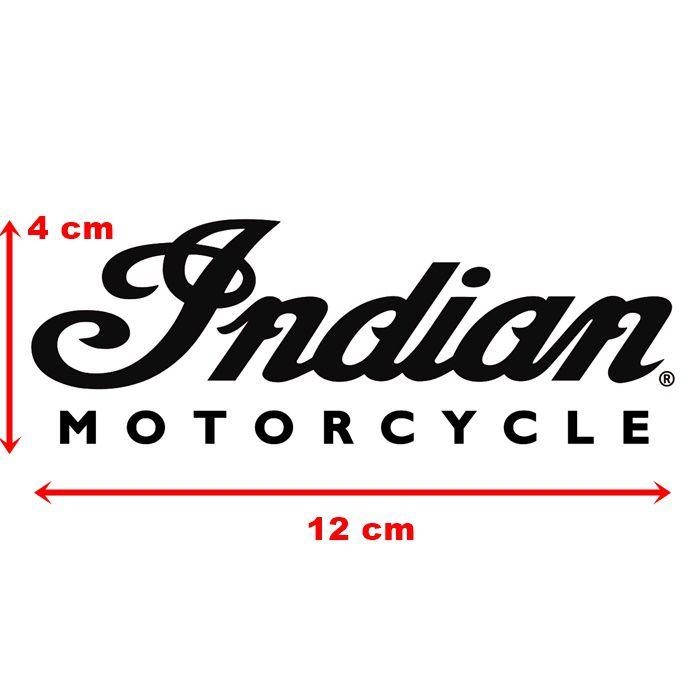 Adesivo Indian Preto em Plotter - Unidade  - Race Custom
