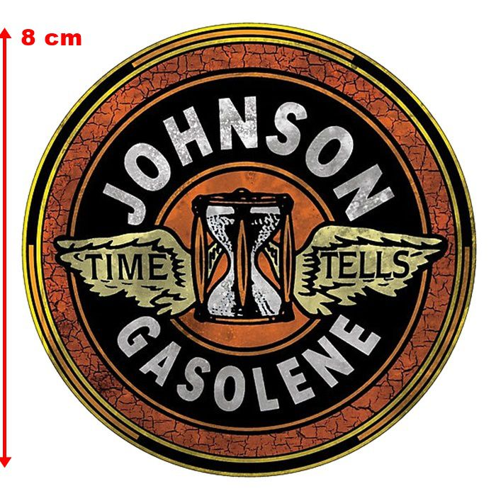 Adesivo Johnson Gasoline - Unidade  - Race Custom