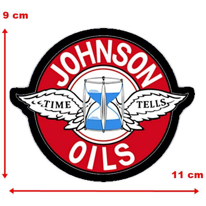 Adesivo Johnson Oils - Unidade  - Race Custom