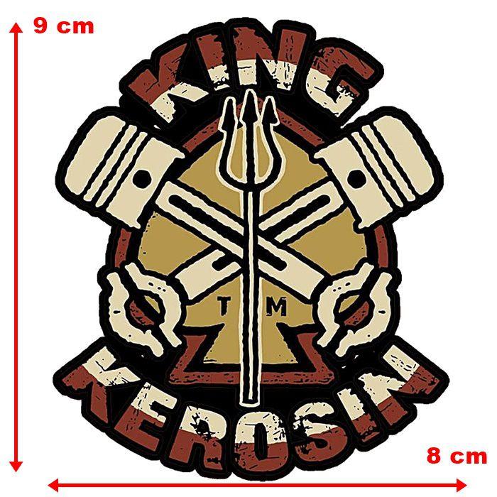 Adesivo King Kerosin Tridente - Unidade  - Race Custom