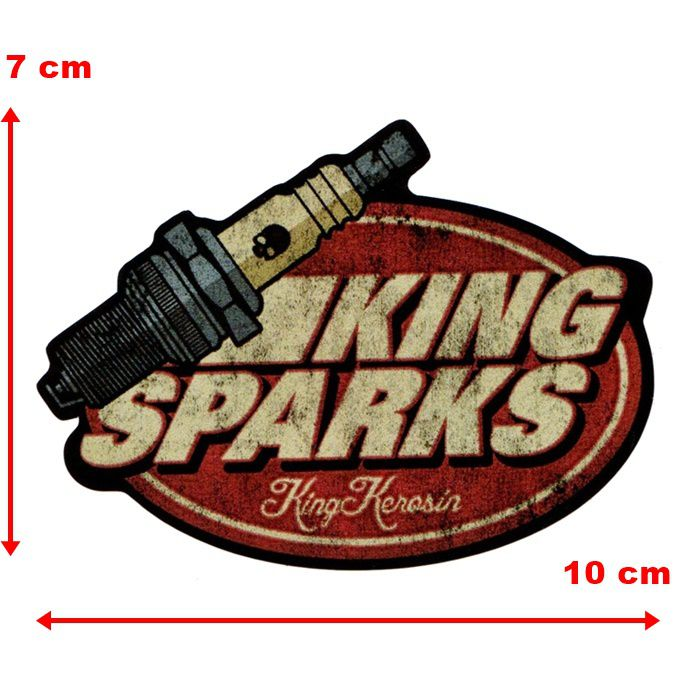 Adesivo King Sparks - Unidade  - Race Custom