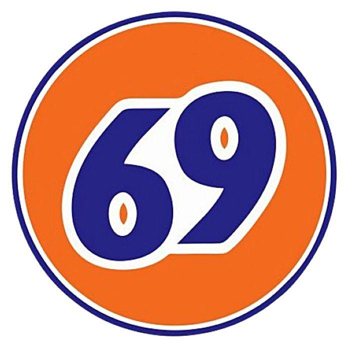 Adesivo Logo 69 - Unidade  - Race Custom
