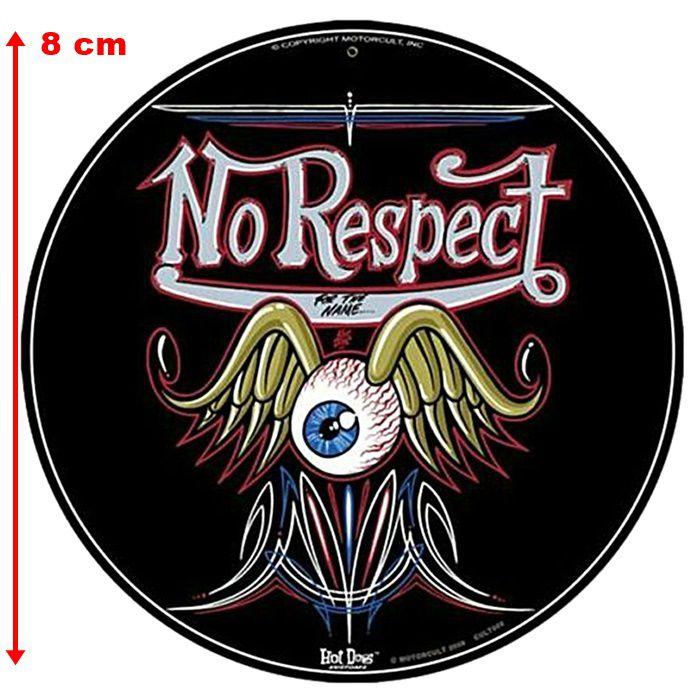 Adesivo No Respect - Unidade  - Race Custom