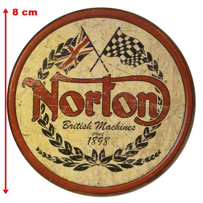 Adesivo Norton Motorcycles - Unidade  - Race Custom