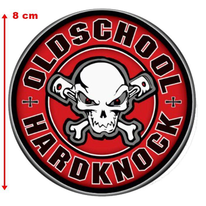 Adesivo Old School Hardknock - Unidade  - Race Custom