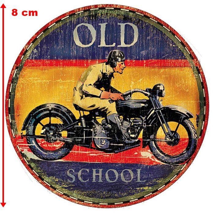Adesivo Old School - Unidade  - Race Custom