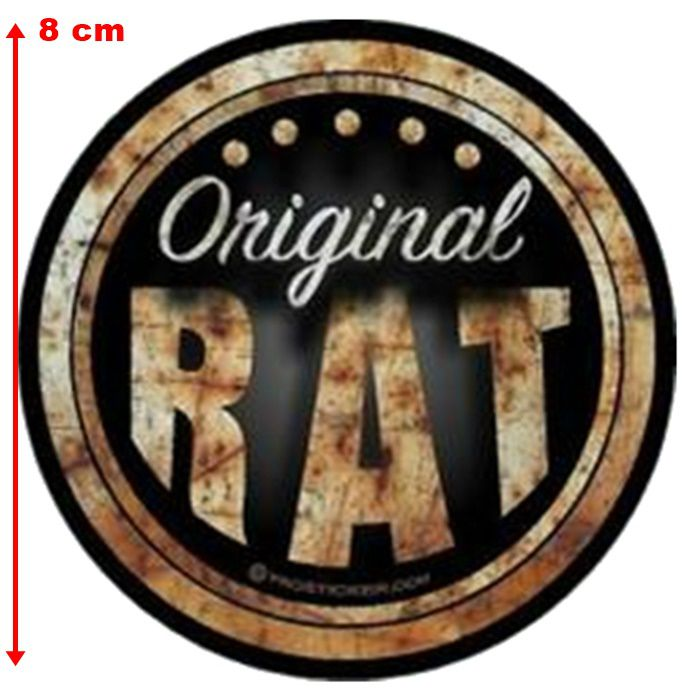 Adesivo Original Rat - Unidade  - Race Custom