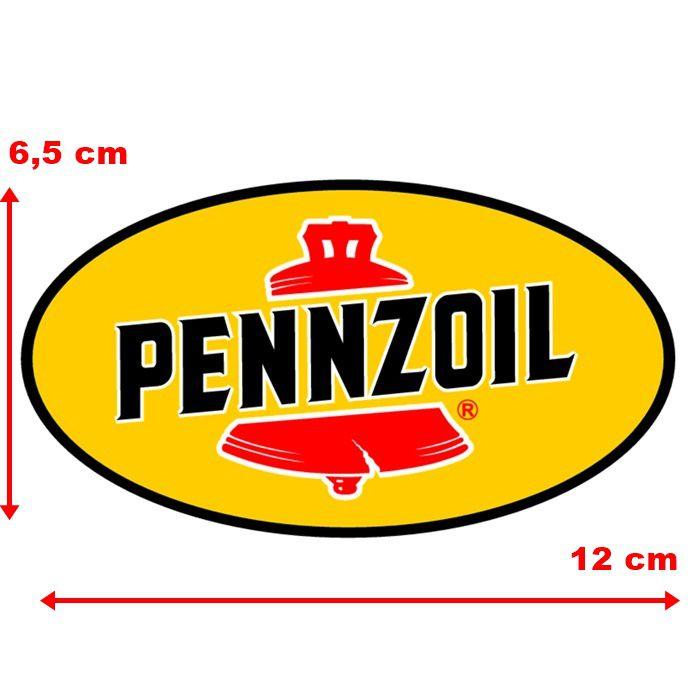 Adesivo Pennzoil - Unidade  - Race Custom