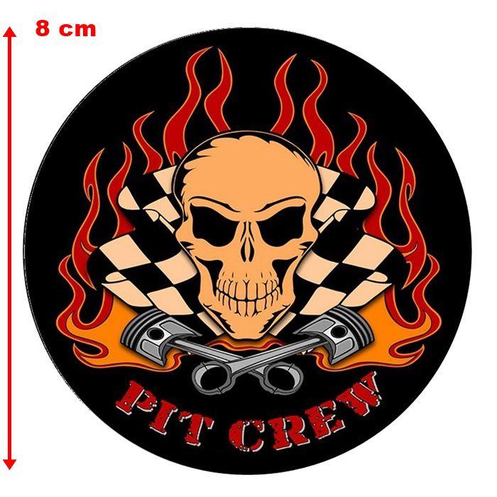 Adesivo Pit Crew - Unidade  - Race Custom